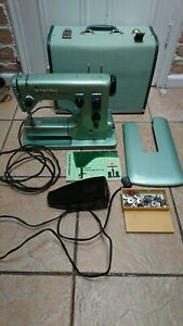 Vintage Viking Husqvarna 19E special ZigZag Electric Sewing Machine heavy duty