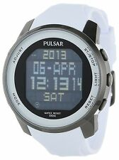 PULSAR PQ2015 CLASSIC WORLD TIME CHRONO ALARM DAY & DATE MEN'S WATCH NEW