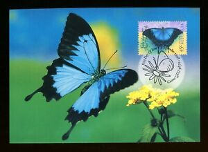 1998 Australia Ulysses Butterfly Maxi Card Cairns. SG 1814. PHQ