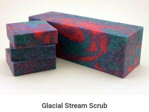 Handmade Soap *Glacial Stream Scrub* Homemade Soap *Masculine Soap*