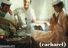 PUBLICITE ADVERTISING 055  1979  CACHAREL  pret à porter ( 2pa)  par SARAH MOON