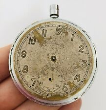 RARE LEONIDAS Pocket Watch Military WWII Army Swiss Parts/Repair Old Vintage
