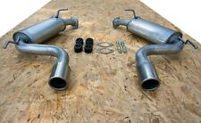 CHEVROLET CAPTIVA 2.0 2.4 3.2 since 2006 Silencer Exhaust System X37