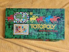 Vintage Waddingtons 'Totopoly' 1978 Horse Racing Board Game - Damaged/Incomplete