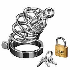 Fetish Bondage CB Male Chastity Belt Chastity Device CBT Urethral Tube za008