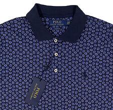 Men's RALPH LAUREN Navy Blue POLO Shirt XL X-Large NWT NEW Classic Fit Soft
