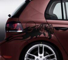 Tiger Aufkleber Auto Seitentribal Seitensticker  Wunschgröße bis 30cm oder 170cm