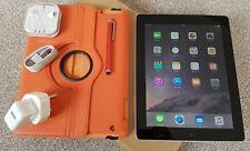 *GRADE-A*Apple iPad 4th Gen-64GB, Wi-Fi+ 4G/3G (Unlocked) 9.7in- Black+Extra