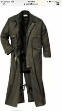 Size M Filson Shelter Duster Coat Parka Trench Otter Green Waxed