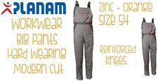 Planam Workwear Visline Bibpants Size 54 Brand New Free Delivery