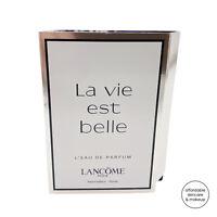 NEW Lancome La Vie Est Belle Eau De Parfum EDP | 1.2mL Sample Spray Vial