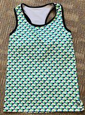 S/P Cannondale Women's Cycling Jersey Top Sleeveless Small Racerback Graphic
