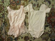 Danskin & Danskin Freestyle Pink Ballet Dance Leotard sz 4 5 lot of 2