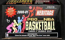 2000-01 Topps Heritage Basketball Sealed Hobby Box