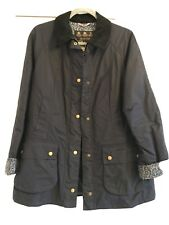 Barbour Abbey Wax Jacket Liberty Print Size 14 Beadnell Style