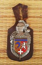 Ancienne broche écusson Rhône-Alpes A.Bertrand authentique, old french shield