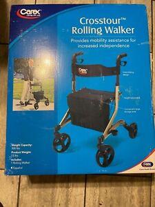 Carex Health Brands a230-00 Crosstour Rolling Walker medical brand new