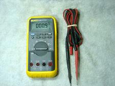 Fluke 83iii 3 Digital Backlight Multimeter Yellow Rubber Case 5 Fluke Leads