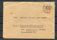 Bedarfsbrief 24 Pfg. EF Marktredwitz-Klein Biesnitz - b5488