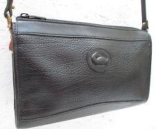 - Authentique sac à main type  sacoche  DOONEY & BOURKE cuir  TBEG  bag vintage
