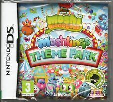 MOSHI MONSTERS 2: MOSHLINGS THEME PARK GAME DS DSi Lite 3DS ~ NEW / SEALED