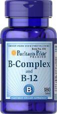 VITAMIN B-COMPLEX AND B-12 180 TABLETS, VITAMIN B-KOMPLEX-und B-12 AU