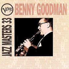 Verve Jazz Masters 33 by Benny Goodman (CD-1994, Motown) BRAND NEW SEALED!