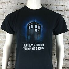 Doctor Who You Never Forget Your First Doctor Men's Medium Short Sleeve T-Shirt