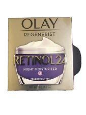 Olay Regenerist Retinol 24 Night Moisturizer 1.7 Oz Fragrance Free