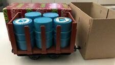 Vintage Lehmann LGB 4045 MINE STAKE CAR w/ ARAL OIL Drum Barrel Load G Garden RR