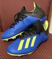 Adidas  X 18.3 Football Men's cleats In Blue Size9