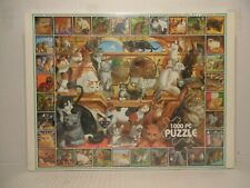 White Mountain Puzzles World of Cats 1000pc Jigsaw Puzzle