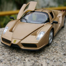 Enzo Ferrari 1:32 Alloy Diescast Model Cars Sound & Light Toys Gifts Golden New