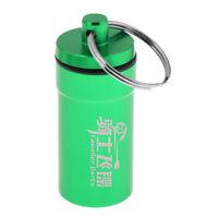 Dart Supplies Storage Box Soft Tips Flights Protector Holder w Keyring Green