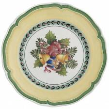 Villeroy & Boch FRENCH GARDEN NOEL - NEW salad / dessert plate 21cm NWL yellow