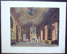 "W. H. Pyne: ""Queen Caroline's Drawing Room, Kensington"""