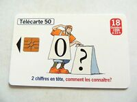 "Vintage 1996 ""Telecarte 50"" France Telecom Phone Card..,,"