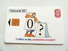 "Vintage 1996 ""Telecarte 50"" France Telecom Phone Card..,,"
