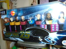New Star Trek 25 TNG Collectors Series Limited Edition PEZ Dispenser Set