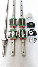 HGR25-400mm Hiwin Liner rail & HGW25CC &RM2505-400mm Ballscrew&BF20/BK20 Kit
