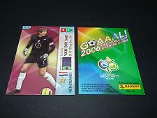 EDWIN VAN DER SAR NEDERLAND PANINI CARD FOOTBALL GERMANY 2006 WM FIFA WORLD CUP