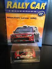 IXO 1/43 Rally Car - MITSUBISHI LANCER WRC - 2004 Monte Carlo Rally - G.Panizzi