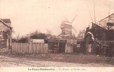 CPA - Le Vieux Montmartre - Le Maquis, 27 février 1904