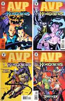 ALIENS VS. PREDATOR  XENOGENESIS #1 - #4   (1999) Dark Horse Comics (Set of 4)