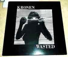 Kronen Wasted Indie Metal LP 1986 AZRA records