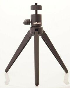 Nikon Key Mission Mini Tripod (like Manfrotto 709) for Camera, Flash, Mic + More