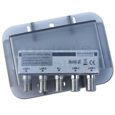 ► DiSEqC Schalter 4-1 WSG Maximum High Iso 4/1 DiSEqC 1.0 ⭐⭐⭐⭐⭐ ✅