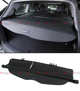For 2014-18 TOYOTA HIGHLANDER OE Style Retractable Cargo Cover Luggage Shade Blk