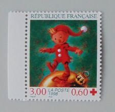 France année 1998 Yvert 3199a neuf luxe ** provenant de carnet croix rouge