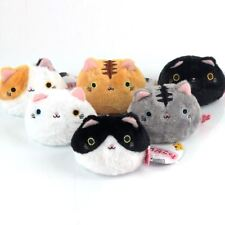 "6PCS a Set Neko Atsume Cat Backyard Cute Meow Dango Mochi 3"" Plush Doll Toy AILG"
